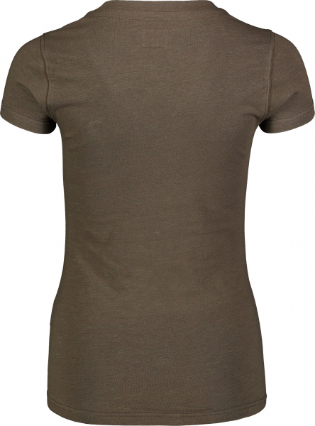 Tricou dama Nordblanc W CONIFER cotton Army green 2