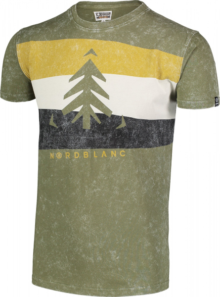 Tricou barbati Nordblanc SCENERY cotton Green arhard 1