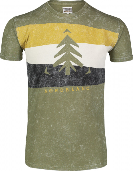 Tricou barbati Nordblanc SCENERY cotton Green arhard 0