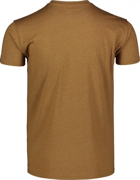 Tricou Barbati Nordblanc TRICOLOR COTTON tawny brown [2]
