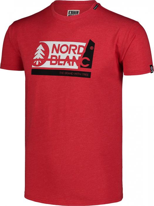 Tricou barbati Nordblanc WALLON dark red [1]