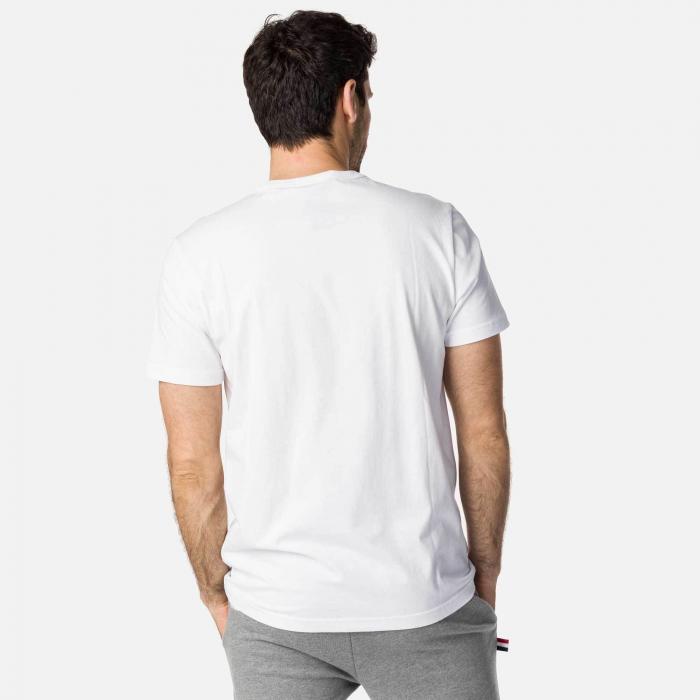 Tricou barbati OVERSIZE ROOSTER White 1