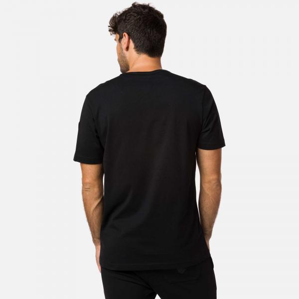 Tricou barbati Rossignol PATCH Black 1