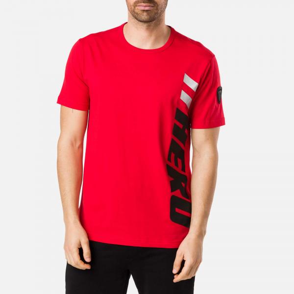 Tricou barbati Rossignol PATCH Red [1]