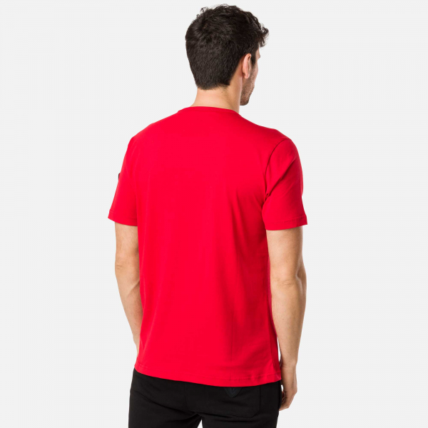 Tricou barbati Rossignol PATCH Red [2]