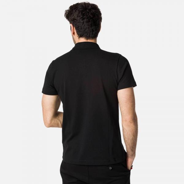 Tricou barbati Rossignol ROOSTER CLASSIC POLO Black 2