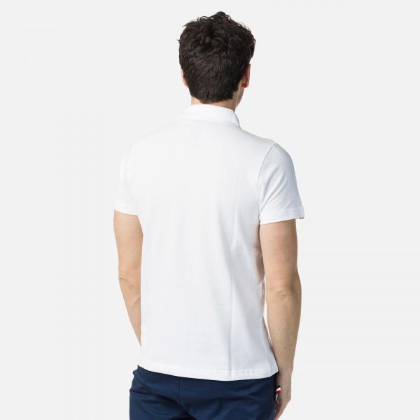 Tricou barbati Rossignol ROOSTER CLASSIC POLO White [1]
