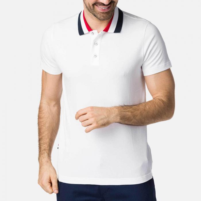 Tricou barbati Rossignol CLASSIC POLO White 0