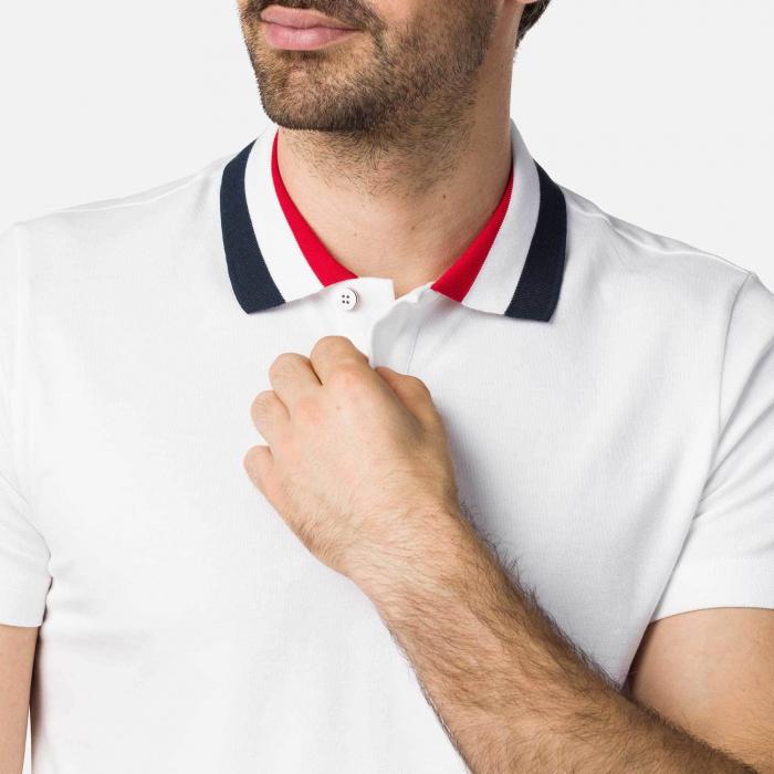 Tricou barbati Rossignol CLASSIC POLO White [2]
