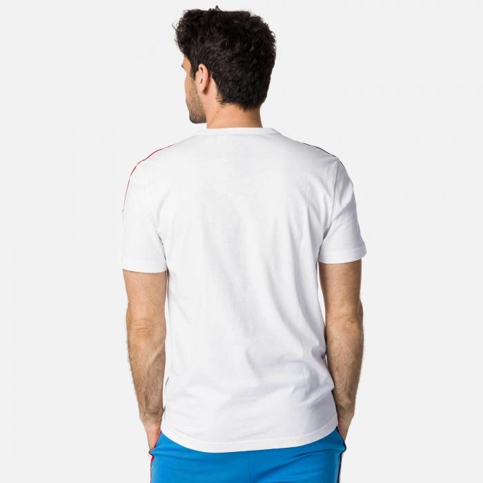 Tricou barbati Rossignol FLAG White [1]