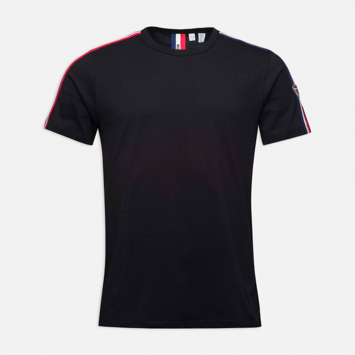 Tricou barbati Rossignol FLAG Black [3]