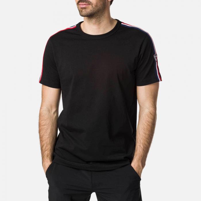 Tricou barbati Rossignol FLAG Black [0]