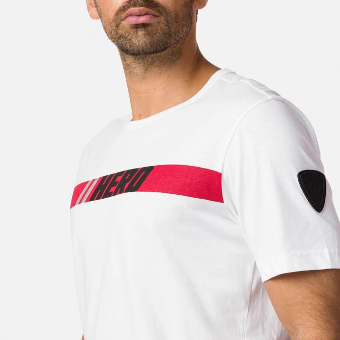 Tricou barbati Rossignol HERO White [2]
