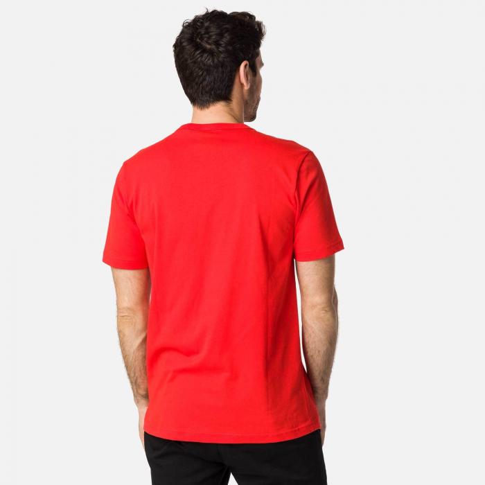 Tricou barbati Rossignol STRIPES CLASSIC Neon red [1]