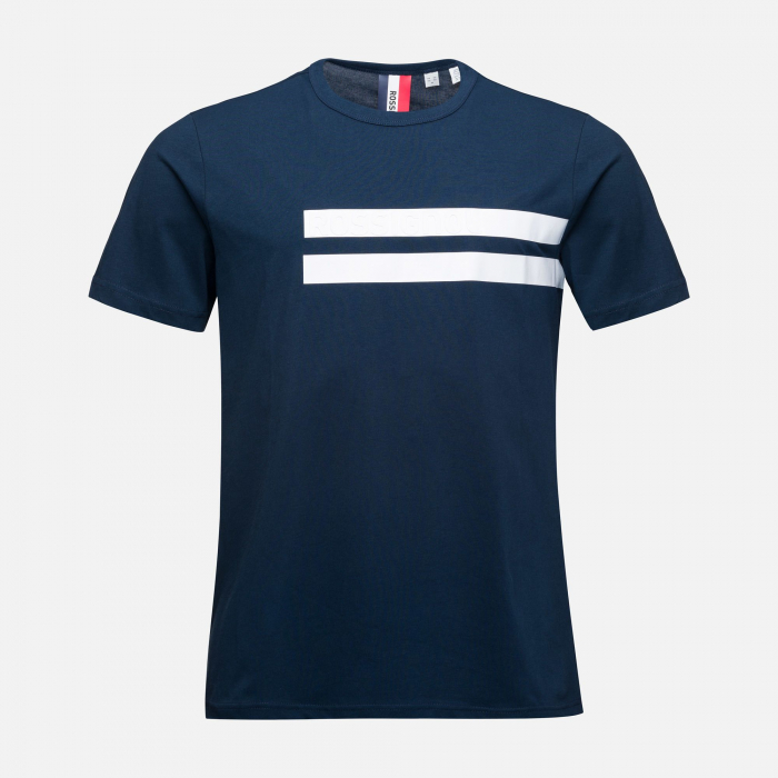 Tricou barbati Rossignol STRIPES CLASSIC Dark navy [3]