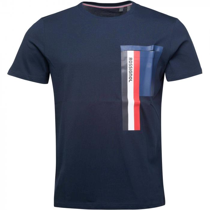 Tricou barbati Rossignol SUPERSYMETRIE Navy [3]