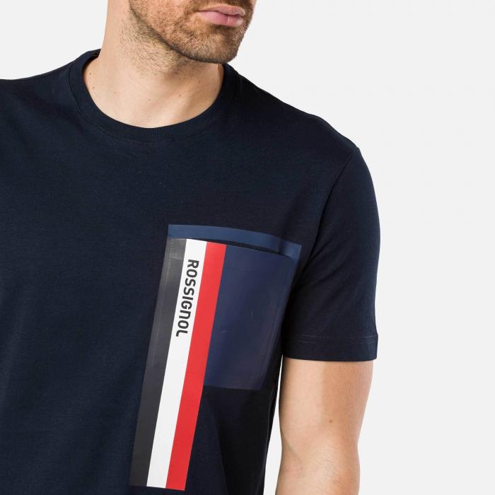 Tricou barbati Rossignol SUPERSYMETRIE Navy [2]