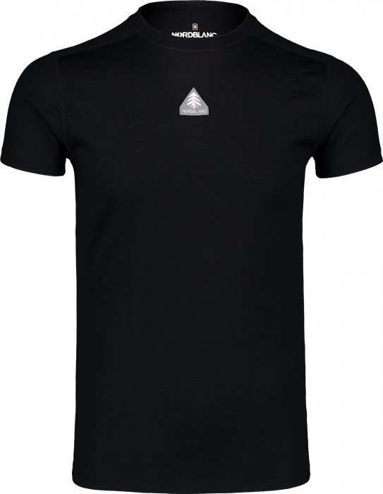 Tricou barbati thermo merino Nordblanc REPONSE Black [0]