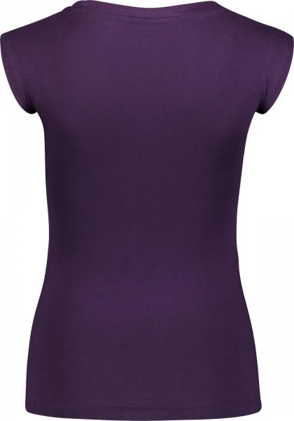 Tricou dama Nordblanc BEATIFIC supersoft elastan Deep purple 1