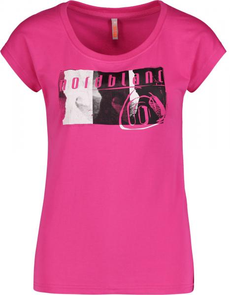Tricou dama Nordblanc CHEEK light cotton Pink [0]