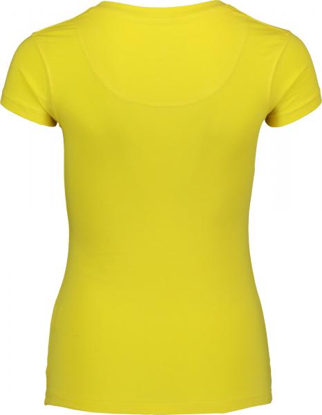 Tricou dama Nordblanc HUMBLE cotton Yellow 1