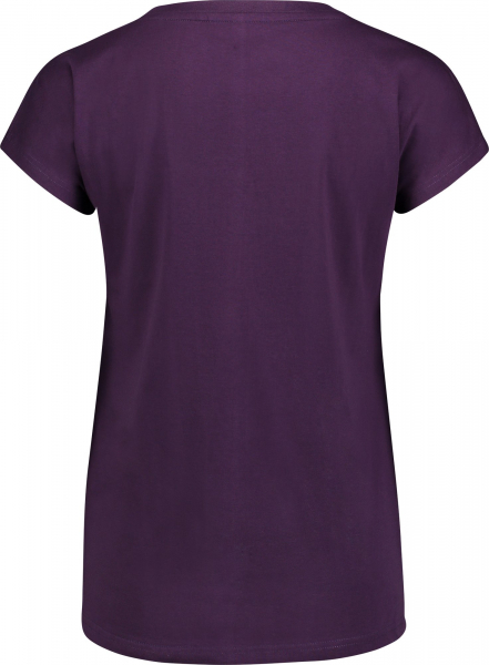 Tricou dama Nordblanc CHEEK light cotton Deep purple 1