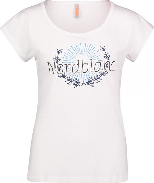 Tricou dama Nordblanc LAUREL Loose Fit cotton White 0