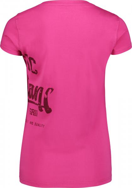 Tricou dama Nordblanc NOSTALGIC light cotton Pink 1