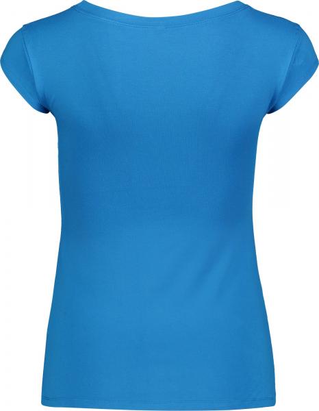 Tricou dama Nordblanc NEST viscose elastan Blue skyline 1