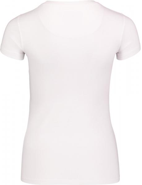Tricou dama Nordblanc RAINBOW supersoft elastan White 1