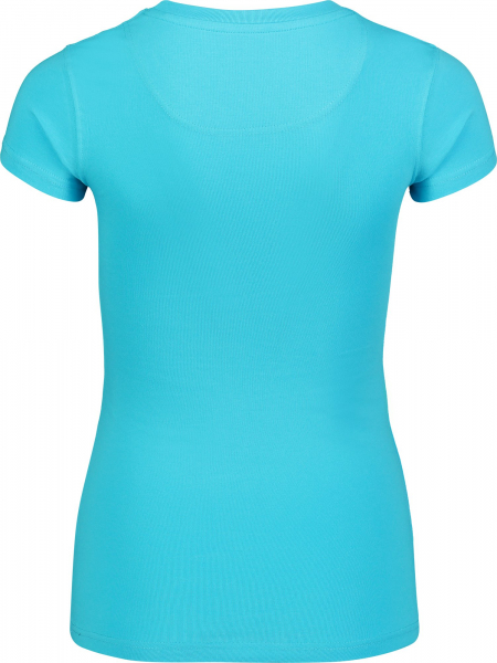 Tricou dama Nordblanc RAINBOW supersoft elastan Ice blue 1