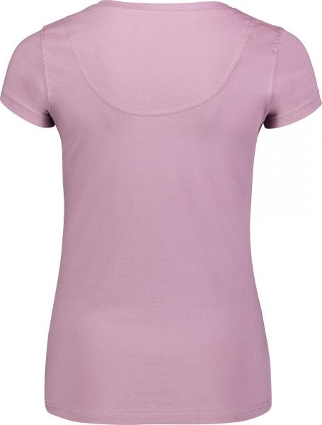 Tricou dama Nordblanc RATTLE cotton Pink clay 1