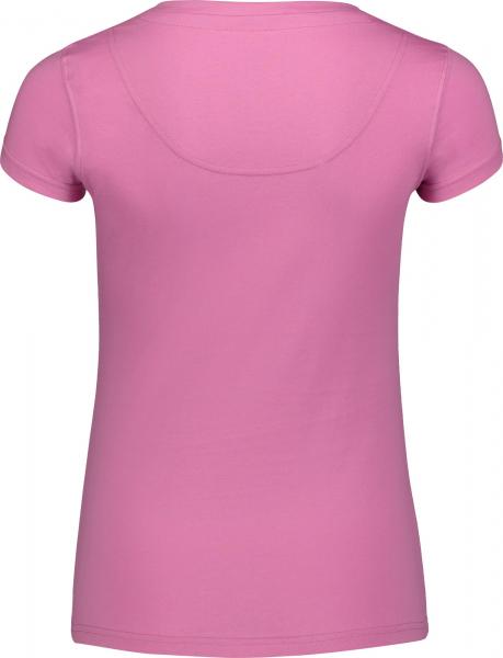 Tricou dama Nordblanc RATTLE cotton Sweet pink 1