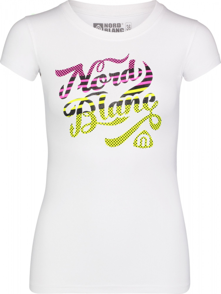 Tricou dama Nordblanc RETRO supersoft elastan White 0