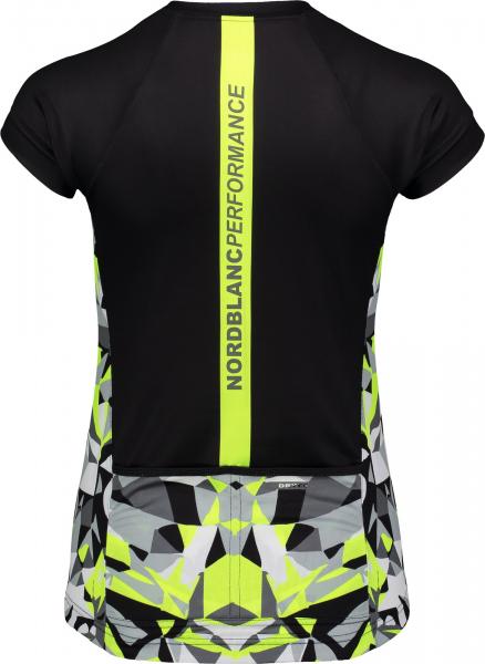 Tricou ciclism dama Nordblanc SEDUCE dryfor bike jersey Black 1