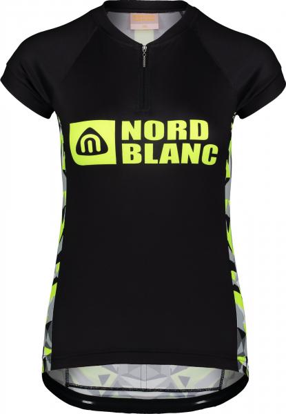 Tricou ciclism dama Nordblanc SEDUCE dryfor bike jersey Black 0