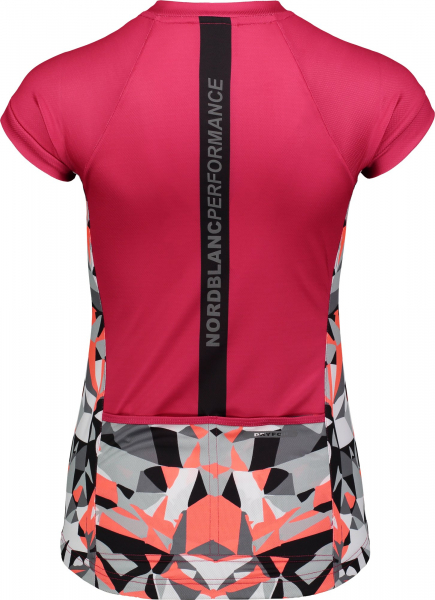 Tricou ciclism dama Nordblanc SEDUCE dryfor bike jersey Air pink 1