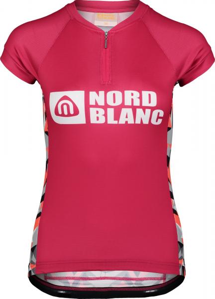 Tricou ciclism dama Nordblanc SEDUCE dryfor bike jersey Air pink 0