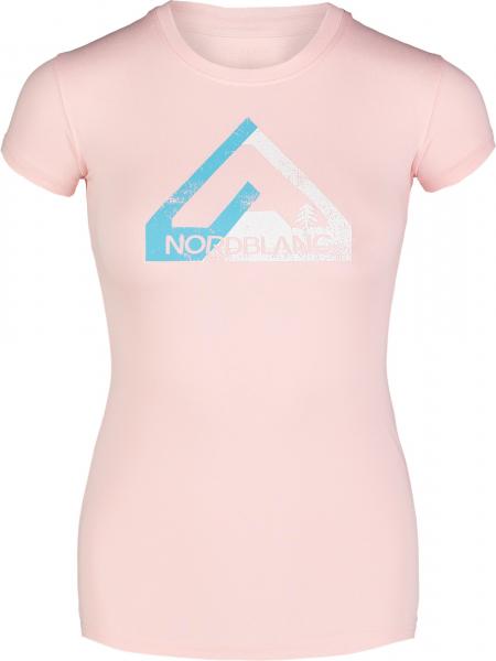 Tricou dama Nordblanc W LETTER roz 0