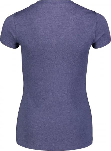 Tricou dama Nordblanc W CONIFER cotton Lovely blue 2