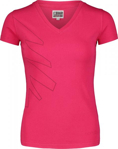 Tricou dama Nordblanc W CONIFER cotton Air pink 0