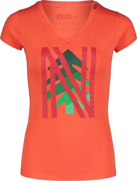Tricou dama Nordblanc W FRONTAL orange 0