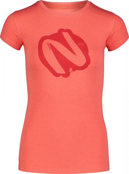 Tricou dama Nordblanc W ACRYLIC orange 0