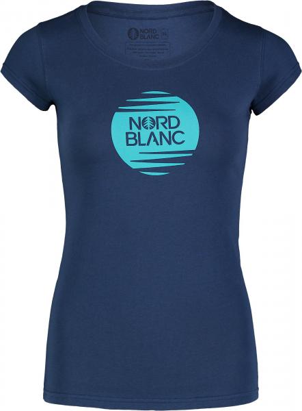 Tricou dama Nordblanc W NOTCH albastru 0