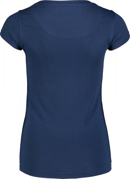 Tricou dama Nordblanc W NOTCH albastru 1