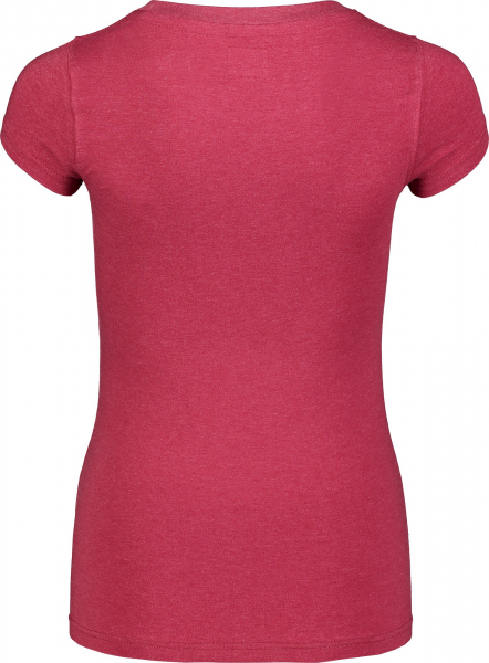 Tricou dama Nordblanc W MEDAL cotton Deep red 2