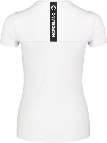 Tricou dama Nordblanc W UNIFY fitness White 2