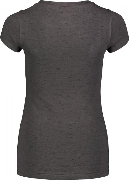 Tricou dama Nordblanc W MEDAL cotton Graphite melange 2