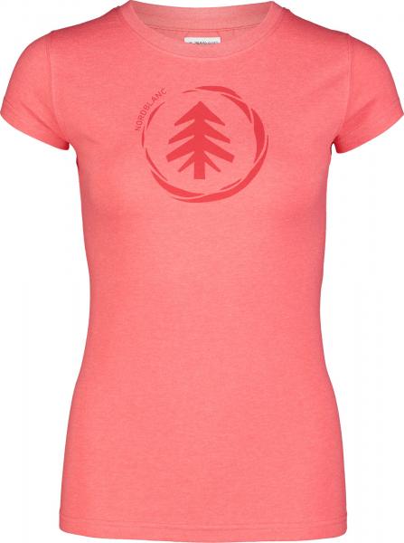 Tricou dama Nordblanc W MEDAL cotton Red coral 0