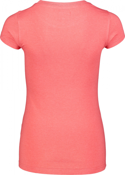 Tricou dama Nordblanc W MEDAL cotton Red coral 2